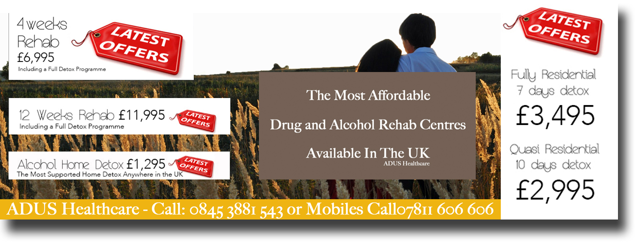 alcohol rehab centres and detox in the UK